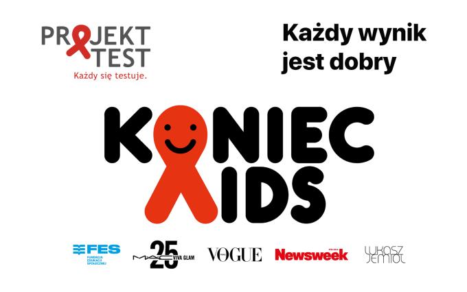 Koniec AIDS – każdy wynik jest dobry – akcja społeczna