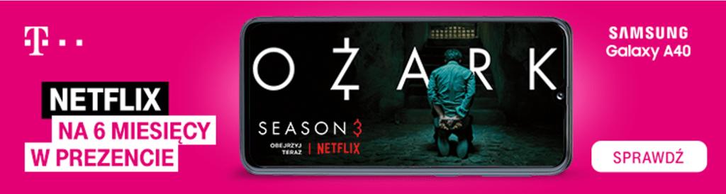 Netflix w T-Mobile na 6 miesięcy za darmo