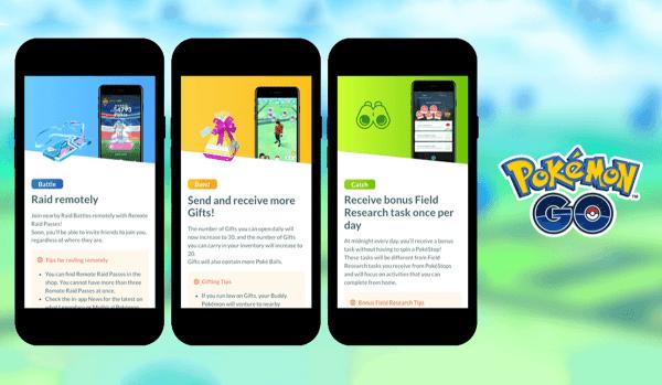 Przewodnik grania w Pokémon GO w domu – już wkrótce!