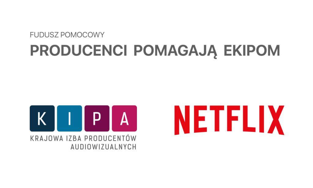 """KIPA i Netflix powołują fundusz pomocowy """"Producenci pomagają ekipom"""""""