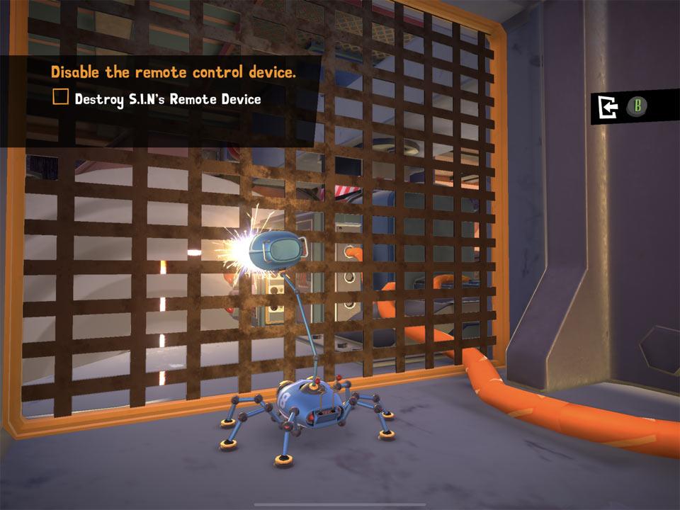 """Zrzut ekranu z gry """"Spyder"""""""