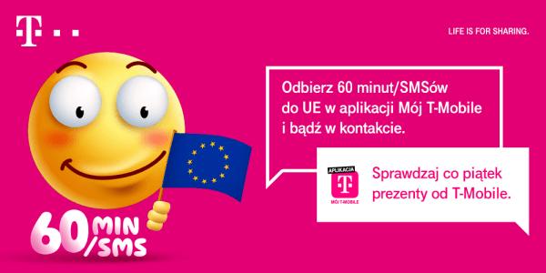 Odbierz 60 minut do UE w ramach #HappyFridays od T-Mobile