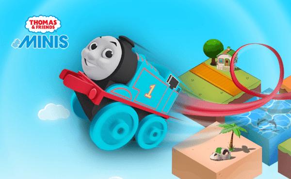 """""""Thomas & Friends Minis"""" przenosi zabawę kolejką na zupełnie inny poziom!"""