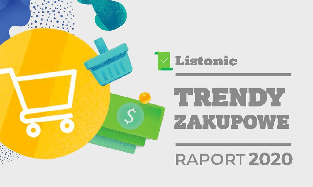 Trendy zakupowe – raport 2020 (Listonic)