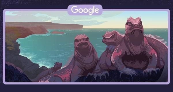 Podziwiaj Wyspy Galápagos z Google Doodle