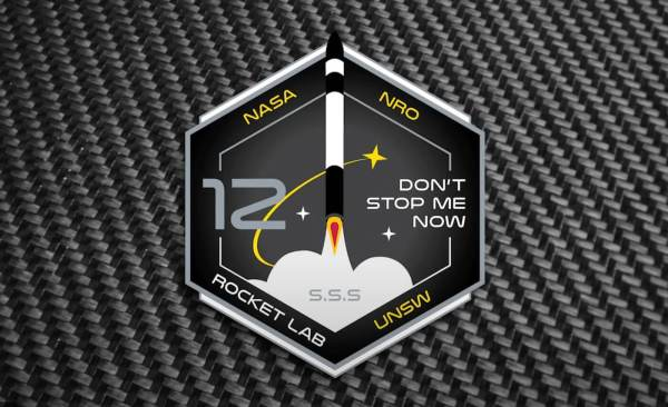 "Oglądaj na żywo 12. start rakiety Electron Rocket Lab ""Don't Stop Me Now"""