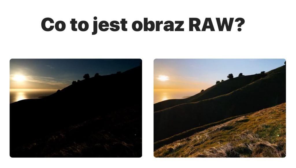 Co to jest obraz w formacie RAW?