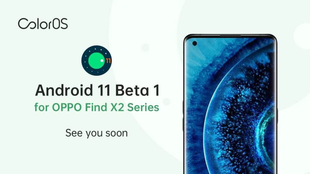 OPPO ColorOS Android 11 Beta dla serii OPPO Find X2