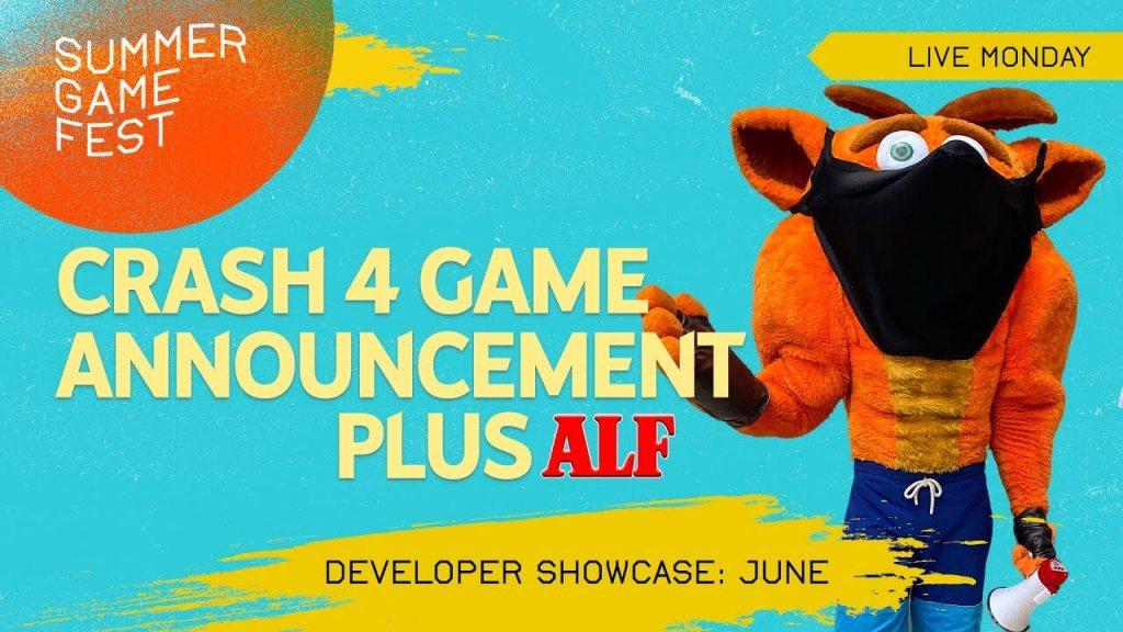 Crash Bandicoot 4 – Summer Game Fest LIVE - Crash 4 Announcement, ALF, Day of Devs (22 czerwca 2020 o godz. 16:30)