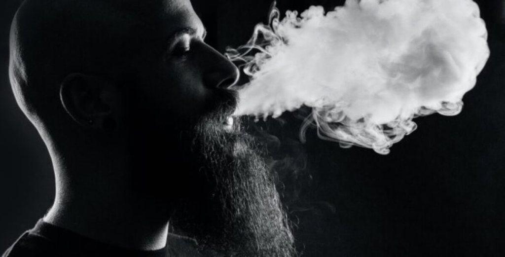 Dym hipster (fot. 24Live)
