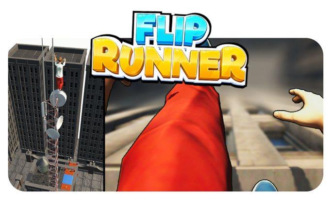 "Gra mobilna ""Flip Runner"""