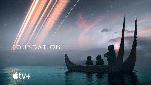 "Zwiastun serialu ""Foundation""od Apple TV+"