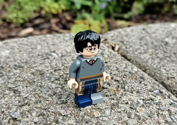 Ludzik Harry Potter (LEGO) - zdjęcie wykonane Oppo Reno3
