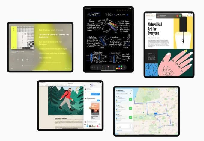 iPadOS 14 - zrzuty ekranu
