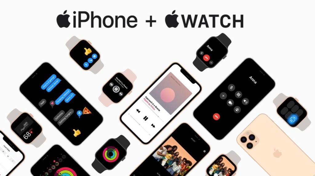 Podstrona: iPhone + Apple Watch