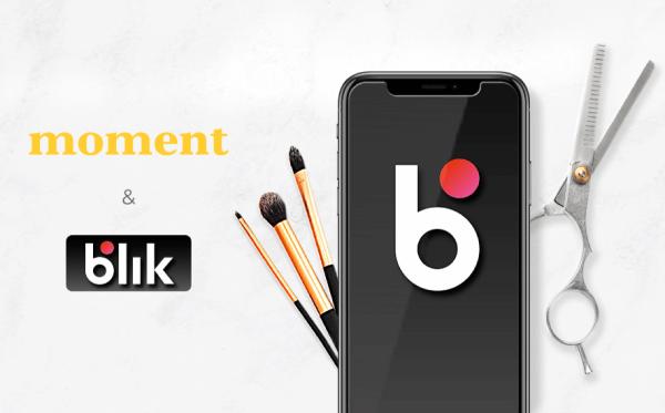 10 zł za rezerwację w aplikacji Moment opłaconą BLIKIEM