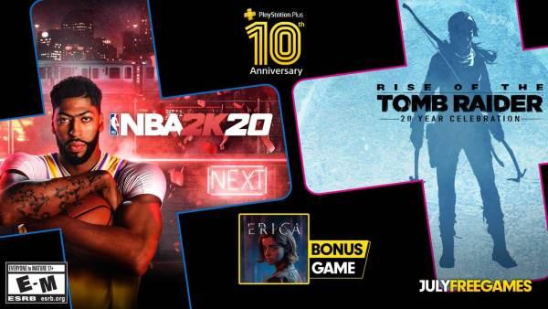 10. rocznica PS Plus i 3 nowe gry na lipiec!