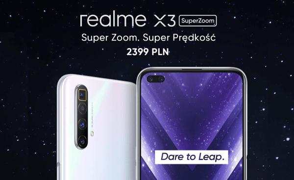 realme X3 SuperZoom i realme Watch zadebiutowały w Polsce
