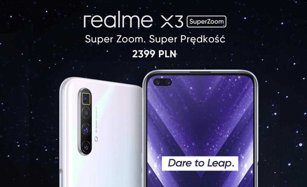 Smartfon realme X3 SuperZoom