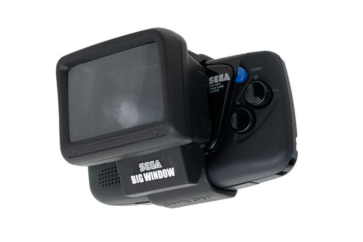 SEGA Big Window - lupa do minikonsoli Game Gear Micro