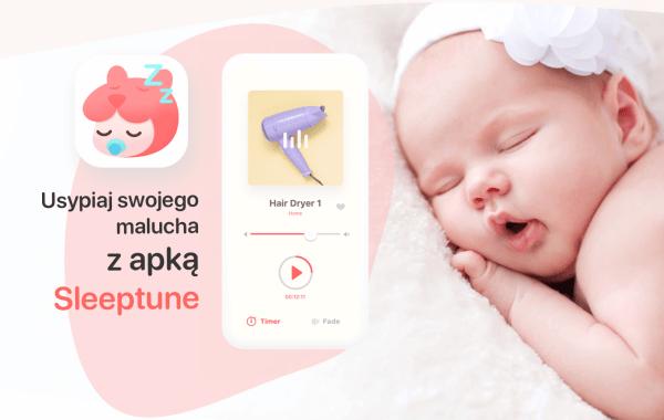 """Aplikacja mobilna z kołysankami do usypiania dzieci """"Sleeptune"""""""