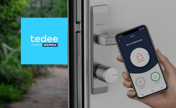 Zamek tedee (z atestowaną wkładką GERDA) otworzysz smartfonem