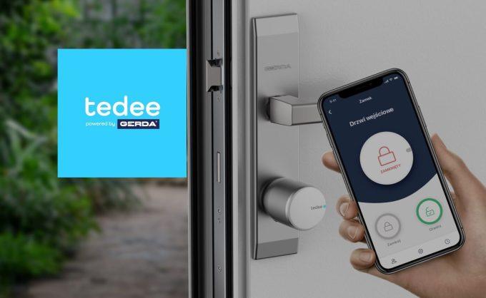 tedee powered by GERDA – inteligentny zamek otwierany smartfonem lub Apple Watchem