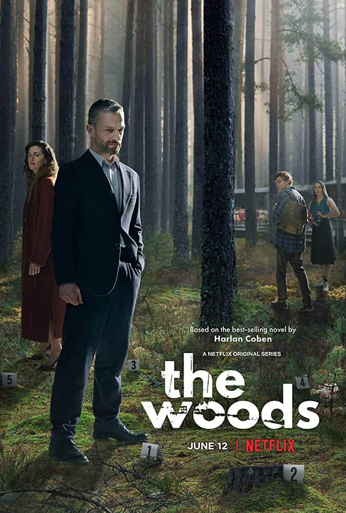 W głębi lasu – The Woods – Netflix 2020 (plakat serialu)
