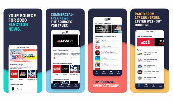 TuneIn Radio to aplikacja do słuchania wszystkiego z internetu