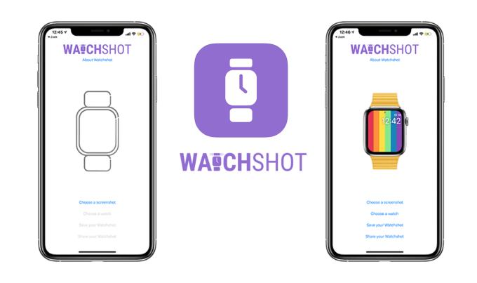 Watchshot Screenshots - aplikacja mobilna do zrzutów ekranu z Apple Watcha