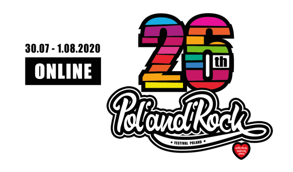 26. Pol'and'Rock Festival – online od 30 lipca