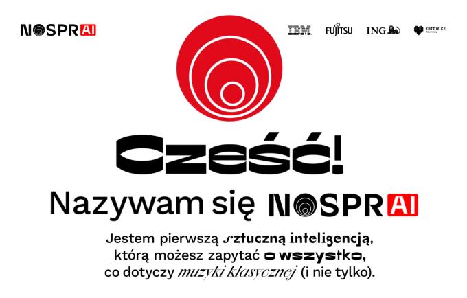 NOSPR AI - sztuczna inteligencja dotycząca muzyki klasycznej