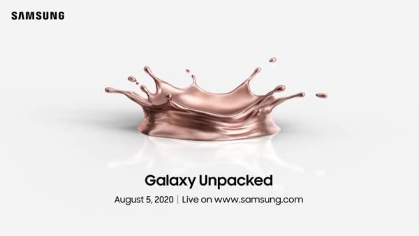 Samsung pokaże Galaxy Note 20 już 5 sierpnia?