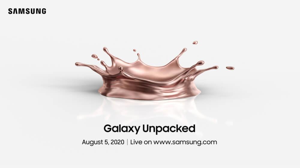 Samsung Unpacked (5 sierpnia 2020)