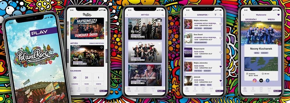 Oficjalna aplikacja mobilna Pol'and'Rock Festival