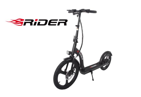 E-hulajnoga Rider Monster z dużymi 20 i 16-calowymi kołami