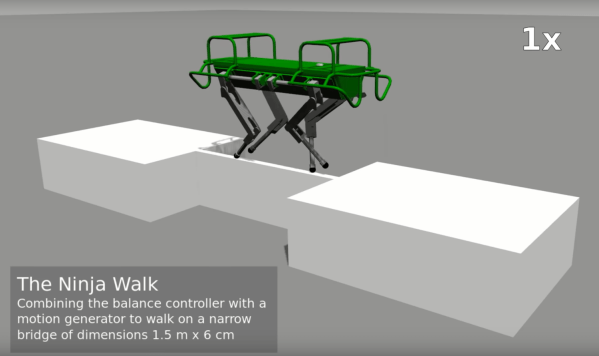 Naukowcy stworzyli robota, który nie traci równowagi