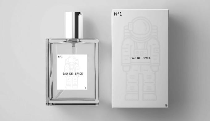 Perfumy o zapachu przestrzeni kosmicznej N°1 od Eau de Space