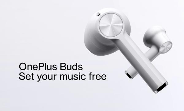 Bezprzewodowe słuchawki OnePlus Buds za 89 euro