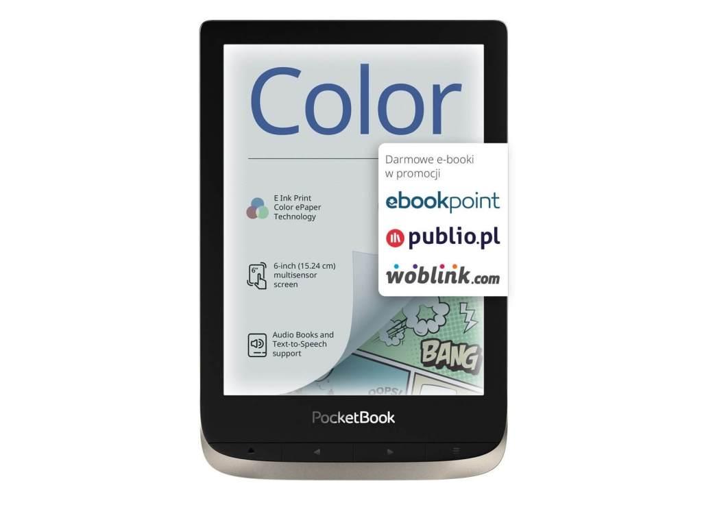 Promocja czytnika PocketBook Color na Czytio