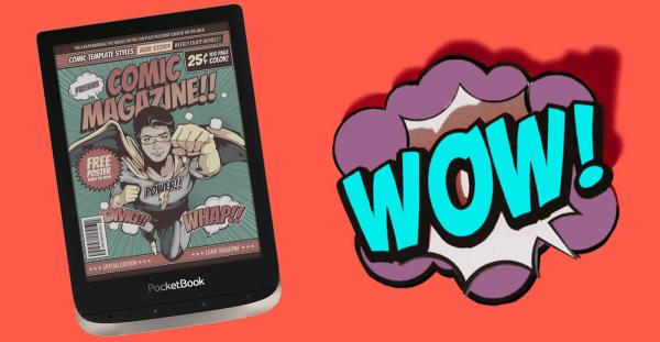 PocketBook Color z kolorowym wyświetlaczem już w sprzedaży!