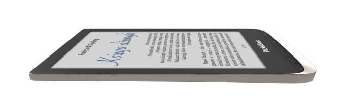 Czytnik PocketBook Color – widok z boku