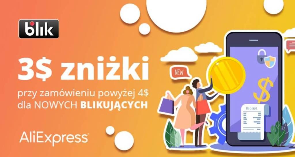 Promocja BLIK na AliExpress (lipiec 2020)
