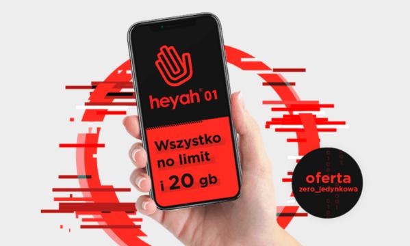 Subskrypcja Heyah 01 – ruszyła zero-jedynkowa oferta
