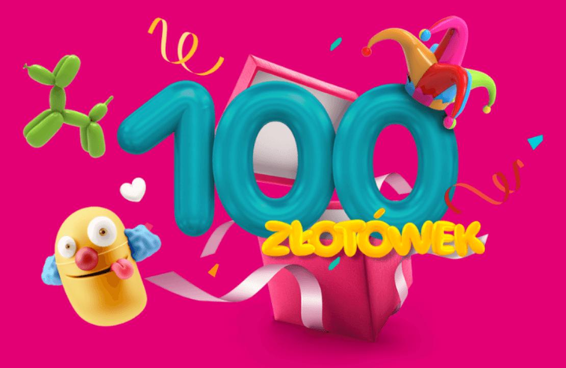 100 ekstra złotówek od T-Mobile z okazji Dnia Pozytywnie Zakręconych