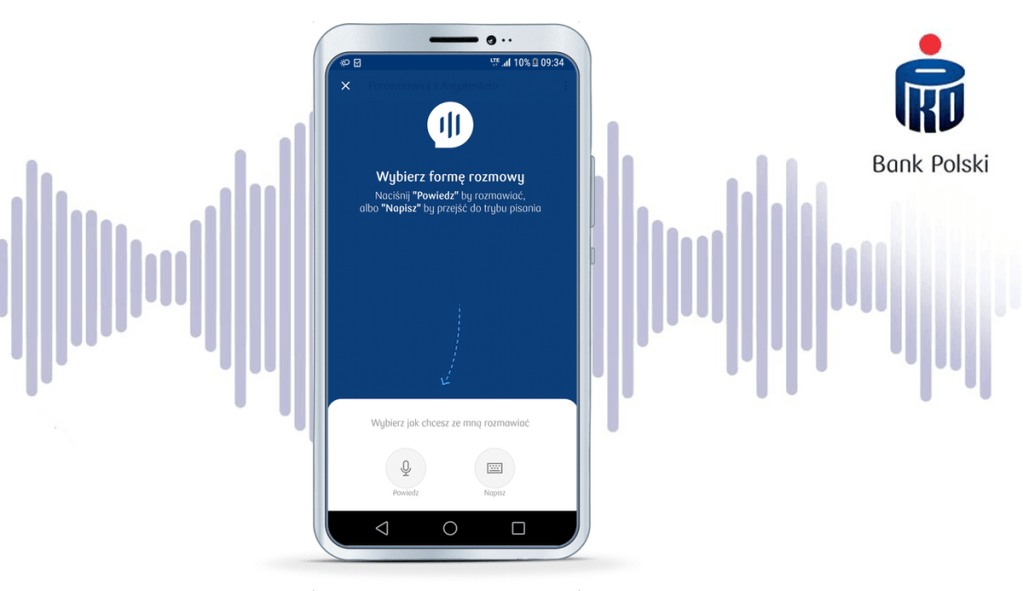 Asystent głosowy w aplikacji IKO na urządzenia z systemem iOS