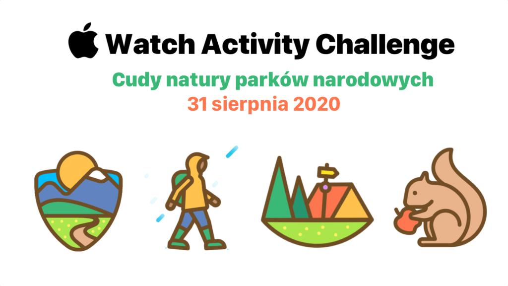 Apple Watch Activity Challenge 31 sierpnia 2020