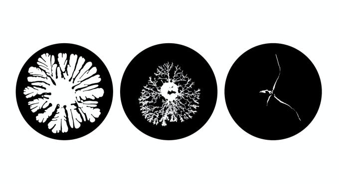 Zdjęcia cieczy zachowującej się jak ciało stałe (Swensea University)