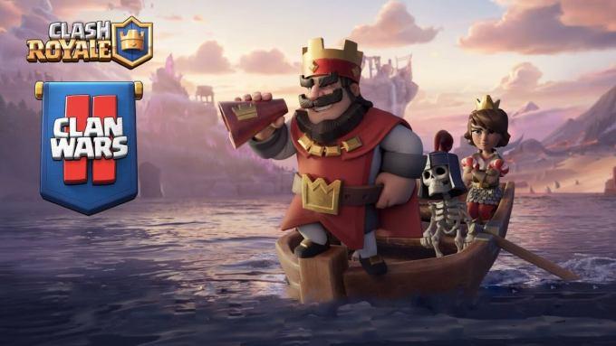 Aktualizacja gry mobilnej Clash Royale z trybem Clan Wars 2.0