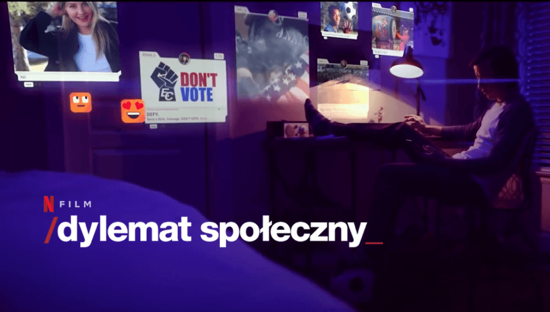 """""""Dylemat społeczny"""" - film dokumentalny Netflix 2020"""